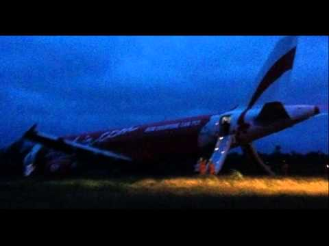 AirAsia Zest Plane 'Overshoots Airport Runway' In the Philippines