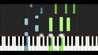 Download Lagu Anitta & J Balvin - Downtown (EASY Piano Tutorial Instrumental) Gratis STAFABAND