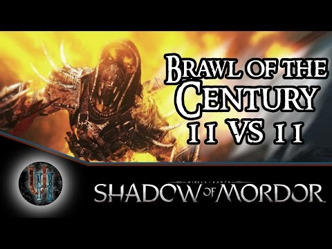 Middle-Earth: Shadow of Mordor - Brawl of the Century - 11 vs 11 Riot