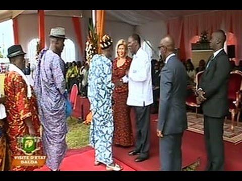 Visite D'Etat: Meeting du Président Alassane Ouattara à Daloa