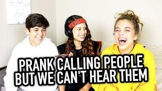 Download Lagu PRANK CALLING PEOPLE BUT WE CAN'T HEAR THEM ft. BabyAriel & Mario Selman Gratis STAFABAND