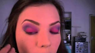 Video Tutorial : Maquillaje Rosa y Violetas