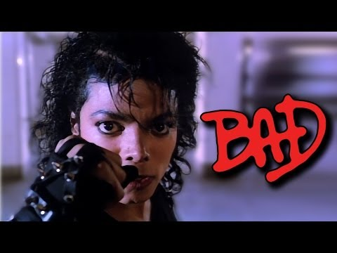 Michael Jackson's Bad - Restored Hd - Examples Of Restoration video