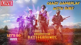 🔴PUBG MOBILE LIVE🔴 | RUSH GAMEPLAY & CUSTOM ROOM | SUBSCRIBE & JOIN US [HINDI]