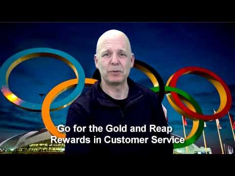 Customer Service Olympics: Reach for Gold to Reap the Rewards