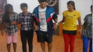 nagpuri dance style instructor by yosheet Maurya