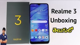 Realme 3 Unboxing & initial impressions ll in Telugu ll