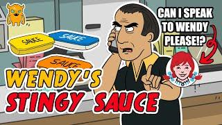 Wendy\'s Stingy Sauce Prank