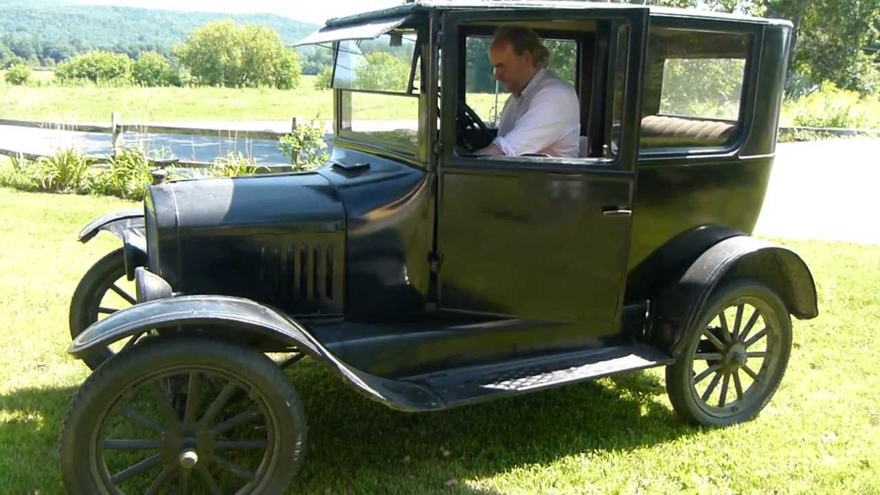 How To Start Up A  Ford Model A Car