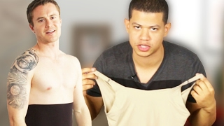 Guys Try Spanx For A Day