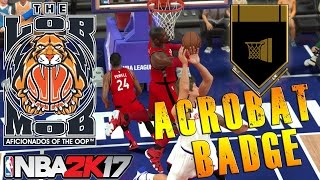 How To Unlock Acrobat For All Positions | NBA 2K17