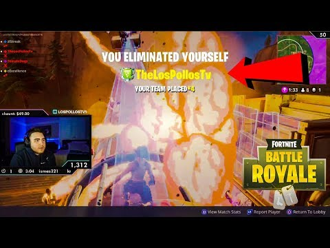 Don't Give LosPollos A Rocket Launcher 😂 (Daily Fortnite Highlights #16)