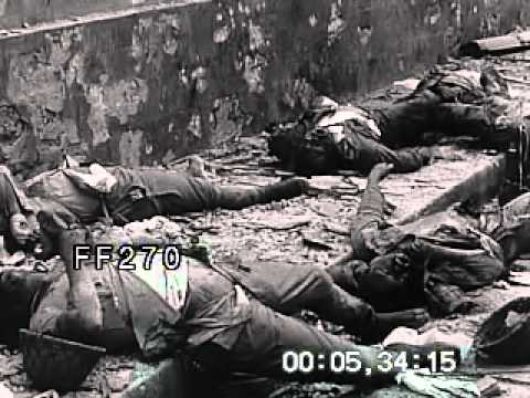 Stock Footage - World War II: Manila Clean-Up