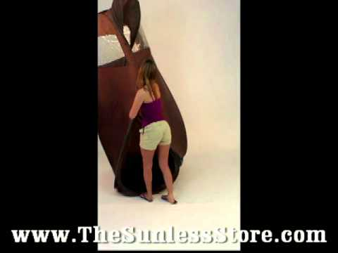 Pop Up Spray Tanning Tent Video