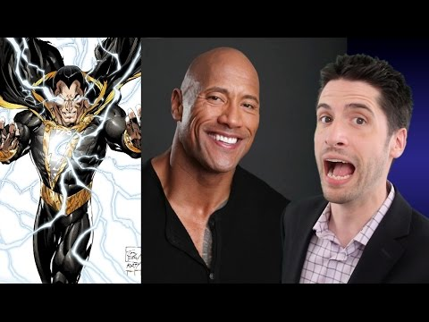 The Rock is Black Adam!