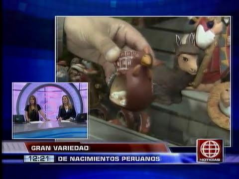 América Noticias: NACIMIENTOS PERUANOS