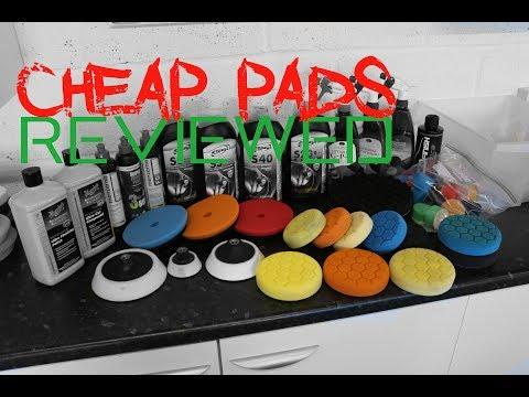 Cheap Chinese polishing pads reviewed