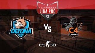 Alienware Liga Pro Gamers Club AGO/18 - DETONA vs C4 Gaming (Inferno)