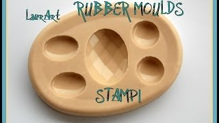 DIY TUTORIAL: STAMPI IN GOMMA SILICONICA | RUBBER MOULDS | GLS50 PROCHIMA | HOW TO