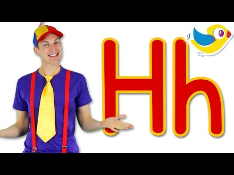 The Letter H Song - Learn the Alphabet