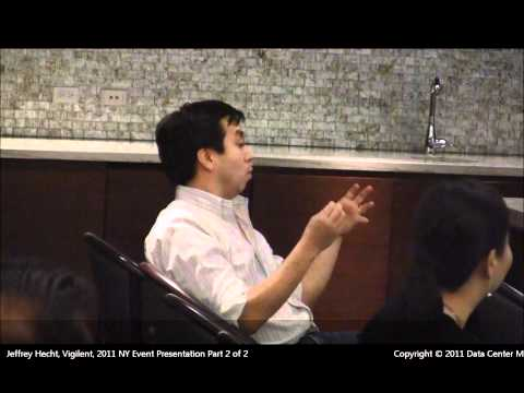 The Data Center Marketplace New York Event Jeffrey Hecht Vigilent Presentation 09292011 Part 2 of 2