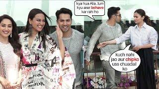 Alia Bhatt ANGRY Reacti0n on Varun Dhawan for his Cl0seness with Sonakshi during Kalank Shoot