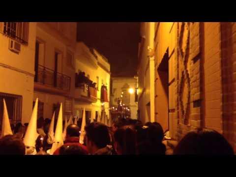 El Señor de Lora en la calle Cristo 2013