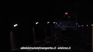 Metro de Santiago   Tren Alsthom NS74 3036 en túnel y entrando a Patronato L2