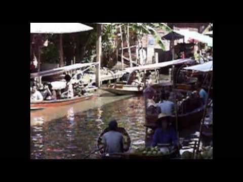 Life In My Thailand, the Klongs and Floating Market, Bangkok 2008