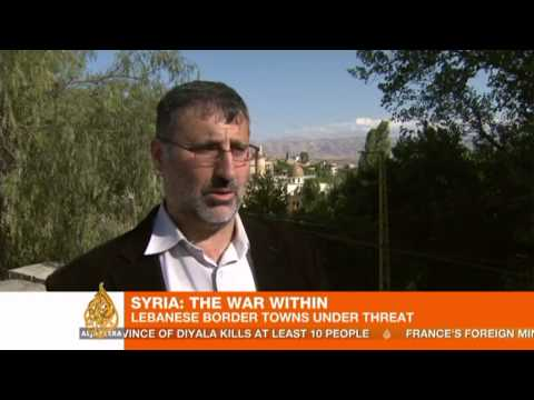 Fighting intensifies along Syria-Lebanon border