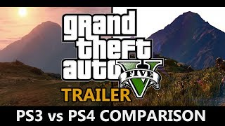 GTA 5 - PS3 vs PS4 Trailer Comparison