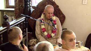 """Sunday Program"" BG2.59 HG Sankarshan Das Adhikari ISKCON Kaunas Lithuania 2015.10.04."