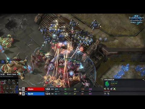 ByuN Vs. Stats TvP - Semi-finals - WCS Global Finals 2016 - StarCraft II