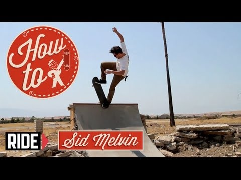 How-To Skateboarding: Switch Blunt with Sid Melvin