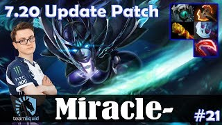 Miracle - Phantom Assassin MID | 7.20 Update Patch | Dota 2 Pro MMR Gameplay #21