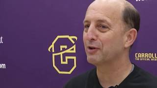 NBA analyst Jeff Van Gundy visits Carroll College