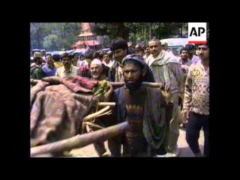 KASHMIR: PILGRIMS KILLED BY FREAK STORMS