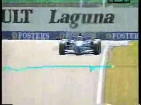 Schumacher's driving style explainded