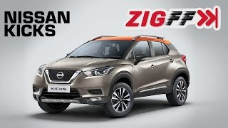ZigFF: Nissan Kicks - Nissan's Creta rival, Kicks, breaks cover.