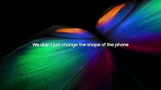 Samsung Galaxy Fold:Unveiling
