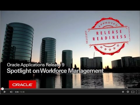 Oracle applications release 9 spotlight on workforce for Www workforcescheduling com jewelry tv