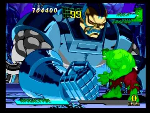 Marvel Super Heroes vs Street Fighter - Apocalypse ...