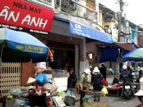 Haiphong, Vietnam street markets