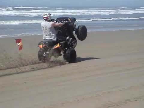 Can-Am Renegade 800X wheelie