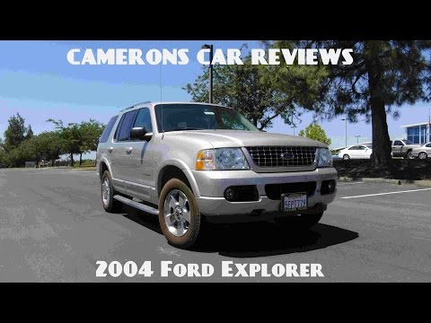 2004 Ford Explorer Limited 4.0 L V6 Limited Review | Camerons Car Reviews