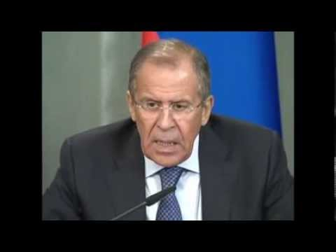 Russian Foreign Minister Sergey Lavrov Speaks about New Crisis