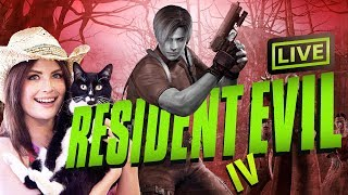 Fighting thicc parasite things | RE4 first playthrough
