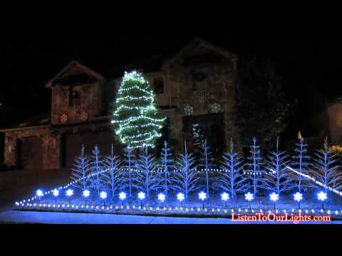 Frozen Christmas Lights (do You Want To Build A Snowman) 2014 video