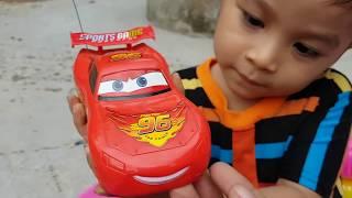 Trò Chơi Bóc Hộp Siêu Xe McQueen Car ❤ ChiChi ToysReview TV ❤ Đồ Chơi Trẻ Em