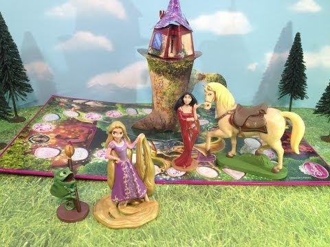Disney Princess Pop Up Magic Tangled Game with Disney Princess Rapunzel Toy